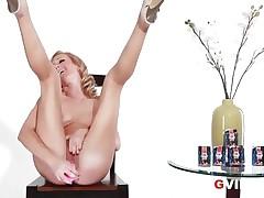 Hot G Vibe Interview Sexy Blonde Pornstar Brett Rossi