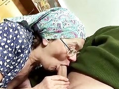 Old couple fuck with great passion