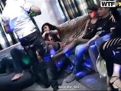 Nasty legal age teenager babes in student sex party group action