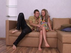 Sexy seduction from hot legal age teenager