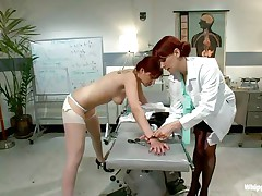 redhead doc treats her patients with love