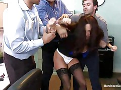 busty hot milf ava addams banged in office