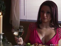 Spectacular Brunette Charity Bangs Gets Fucked and Jizzed On Her Jugs